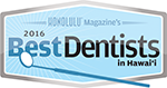 2016 Best Dentists in Hawaii